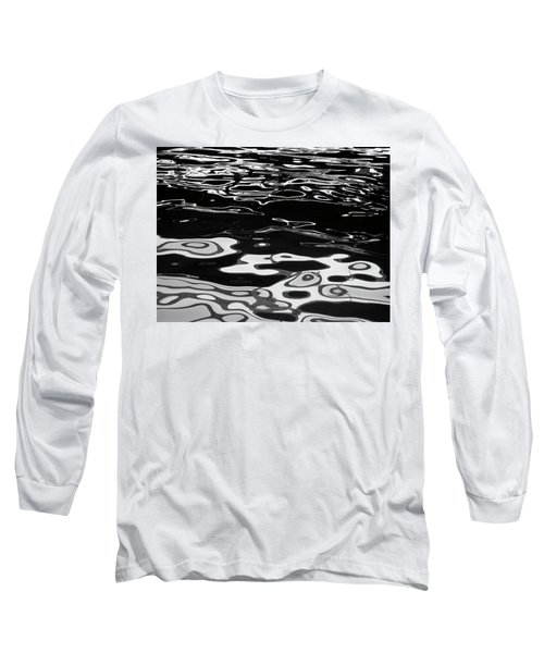 Fluid Abstract Long Sleeve T-Shirt