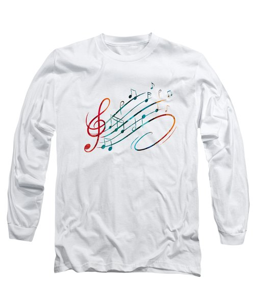 Long Sleeve T-Shirt featuring the painting Fluid Depths Alcohol Ink Abstract by Nikki Marie Smith
