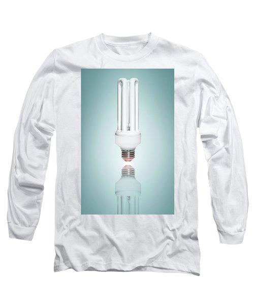 Fluorescent Light Bulb Long Sleeve T-Shirt