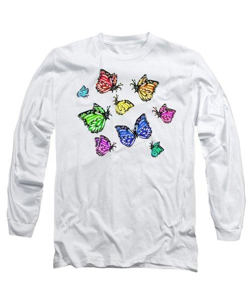 Flutters Long Sleeve T-Shirt by Shana Rowe Jackson