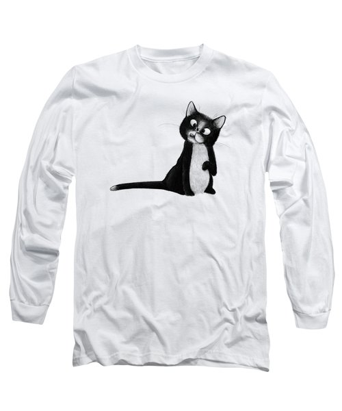 Fly On Cat Long Sleeve T-Shirt