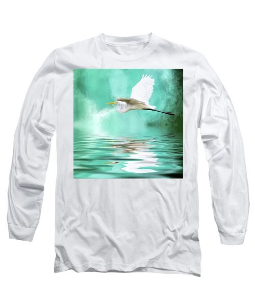 Flying High Long Sleeve T-Shirt by Cyndy Doty