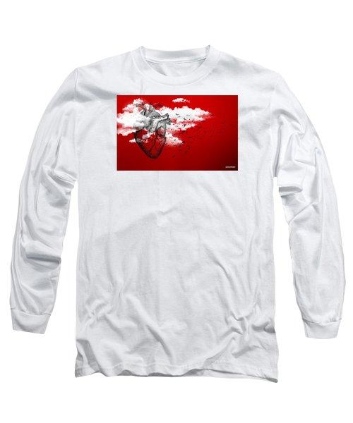 Flying High Long Sleeve T-Shirt by Paulo Zerbato