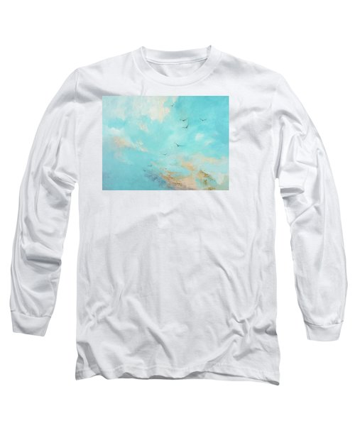 Flying High Long Sleeve T-Shirt by Dina Dargo