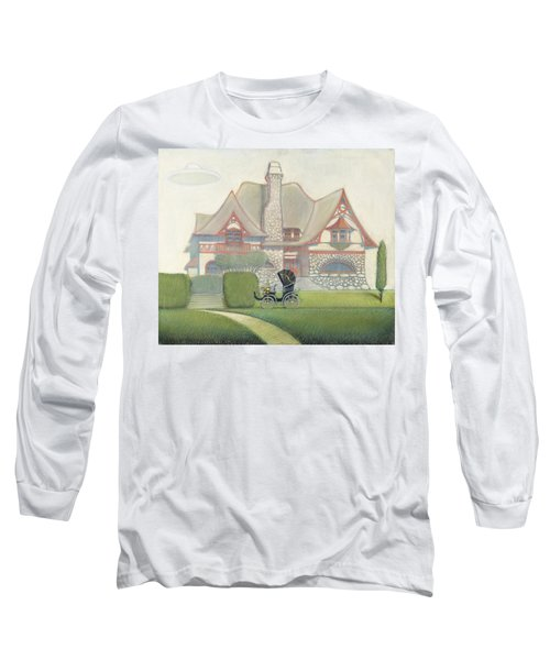 Flying Saucer Long Sleeve T-Shirt