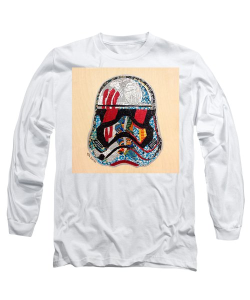 Storm Trooper Fn-2187 Helmet Star Wars Awakens Afrofuturist Collection Long Sleeve T-Shirt
