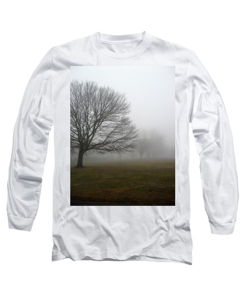 Long Sleeve T-Shirt featuring the photograph Fog by John Scates