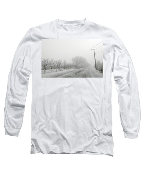Fog On Floweree Dr Long Sleeve T-Shirt