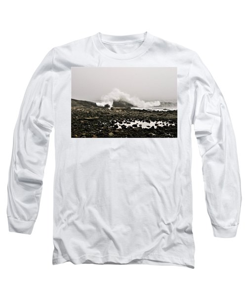 Foggy Day At The Coast Long Sleeve T-Shirt