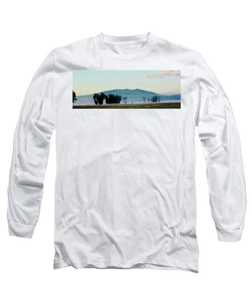 Foggy Field Long Sleeve T-Shirt
