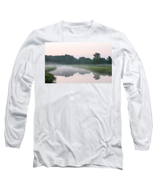 Foggy Morning Reflections Long Sleeve T-Shirt