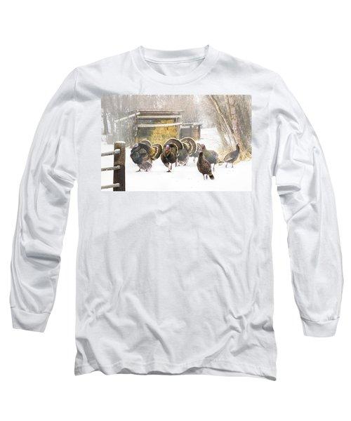 Foggy Morning Long Sleeve T-Shirt