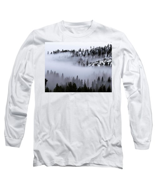 Foggy Mountain Pass Long Sleeve T-Shirt