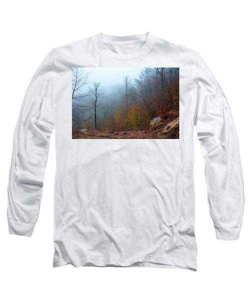 Foggy Nature Long Sleeve T-Shirt