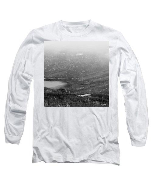 Foggy Scottish Morning Long Sleeve T-Shirt
