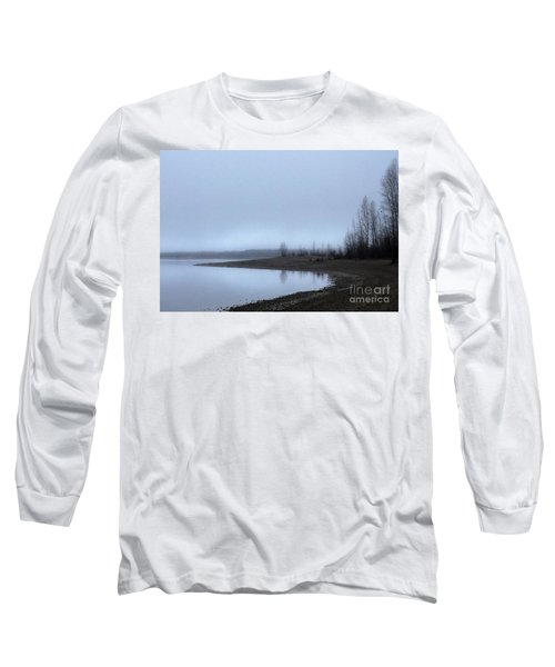 Long Sleeve T-Shirt featuring the photograph Foggy Water by Victor K