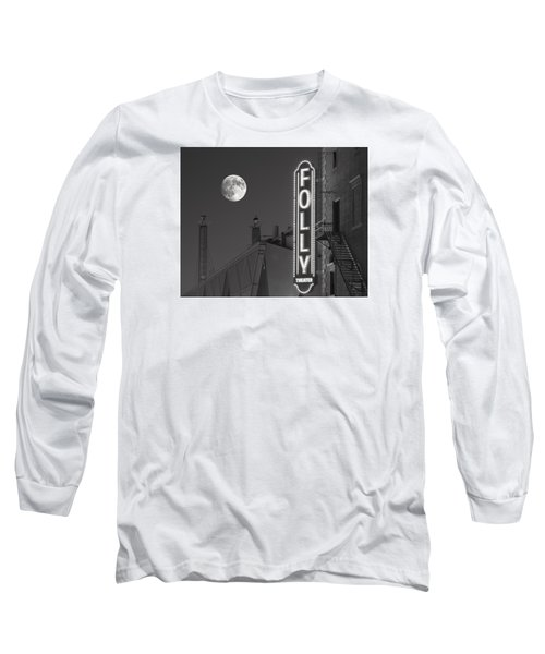 Folly Theatre Kansas City Long Sleeve T-Shirt by Don Spenner