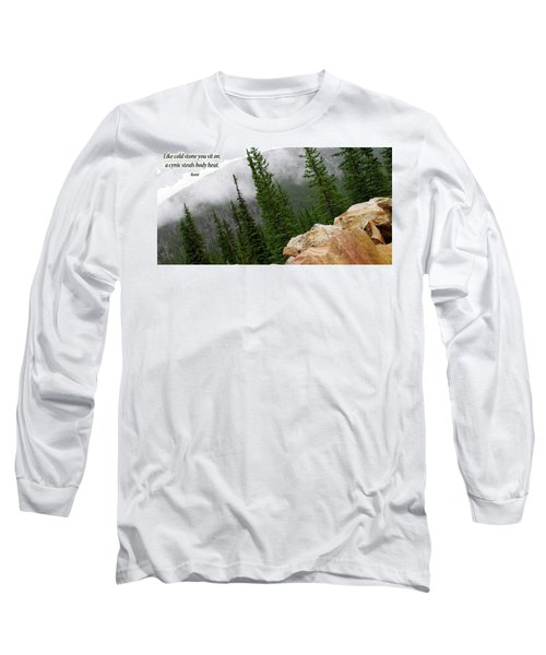 Long Sleeve T-Shirt featuring the photograph Food For Thought by Rhonda McDougall