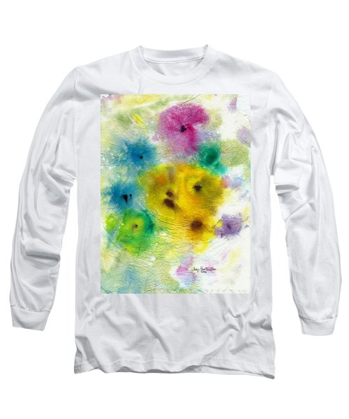For Elise Long Sleeve T-Shirt by Joan Hartenstein
