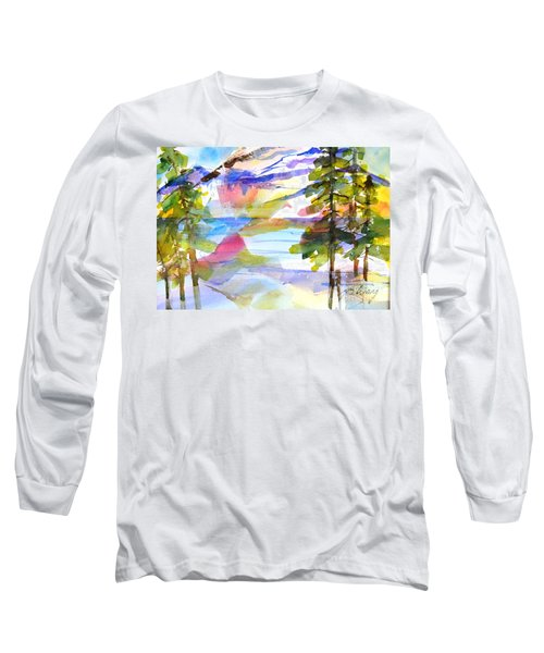 For Love Of Winter #1 Long Sleeve T-Shirt by Betty M M Wong