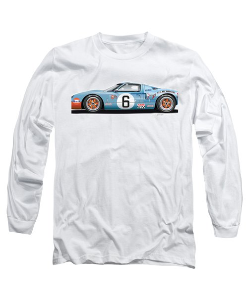 Ford Gt 40 1969 Long Sleeve T-Shirt