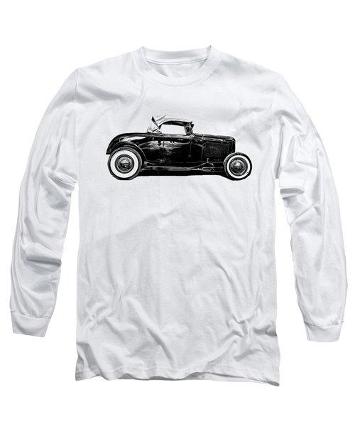 Hot Rod Long Sleeve T Shirts