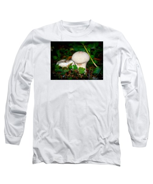 Forest Floor Mushroom Long Sleeve T-Shirt