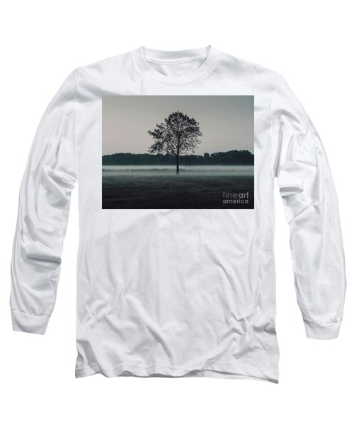 Long Sleeve T-Shirt featuring the photograph Forest Fog by MGL Meiklejohn Graphics Licensing