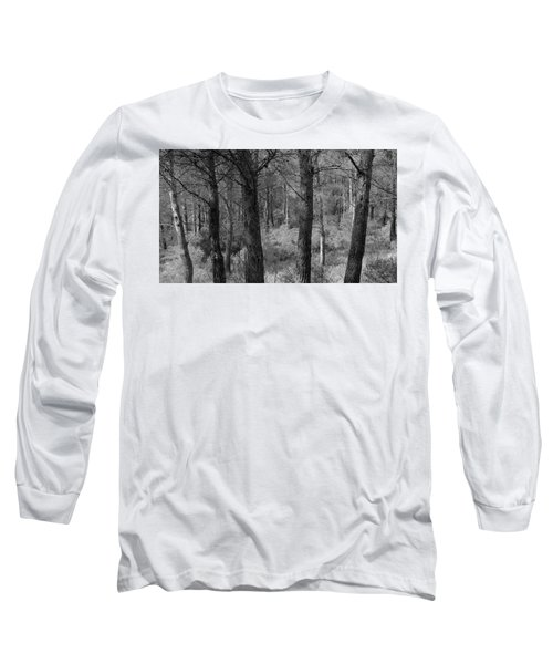 Long Sleeve T-Shirt featuring the photograph Forest Light by August Timmermans