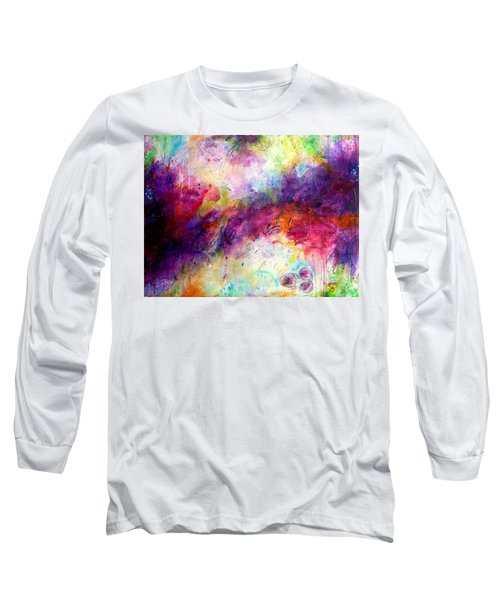 Forever Is A Long Time Long Sleeve T-Shirt by Tracy Bonin