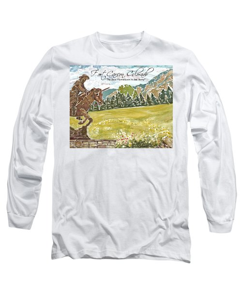 Best Hometown In The Army Long Sleeve T-Shirt