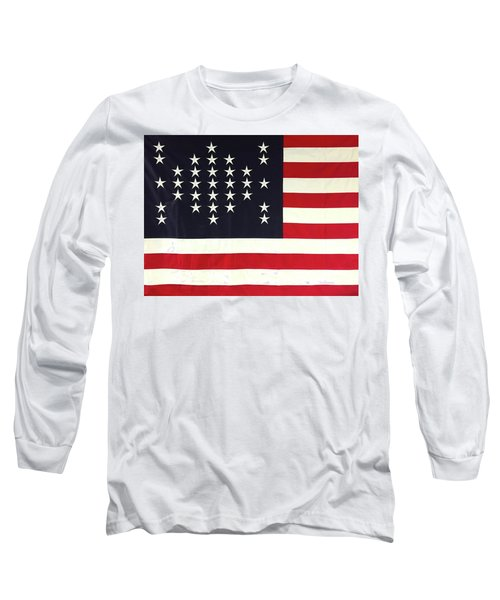 Fort Sumter Flag Long Sleeve T-Shirt