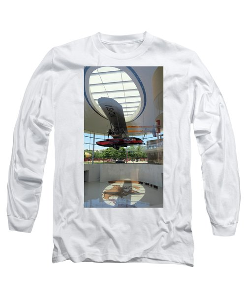 Long Sleeve T-Shirt featuring the photograph Fortaleza Hall, Spirit Of Carnauba by Mark Czerniec