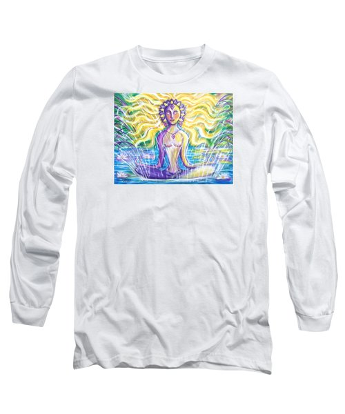 Fountain Of Youth Long Sleeve T-Shirt by Anya Heller