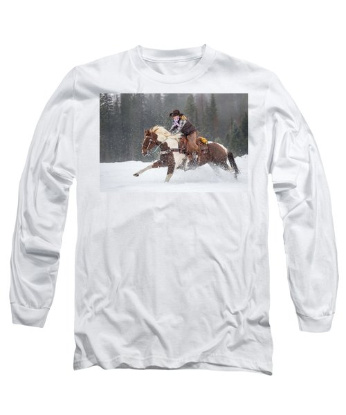 Four Legs Move Our Souls Long Sleeve T-Shirt