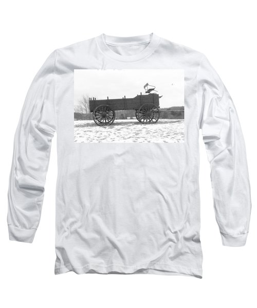 Long Sleeve T-Shirt featuring the digital art Four Wheel Drive by Barbara S Nickerson