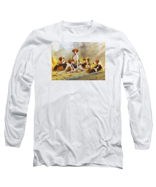 Fox Hounds Long Sleeve T-Shirt by Charmaine Zoe
