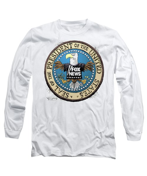 Fox News Presidential Seal Long Sleeve T-Shirt