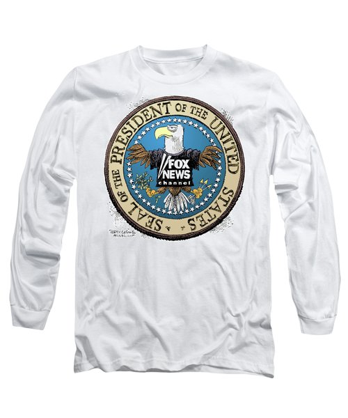 Fox News Presidential Seal Long Sleeve T-Shirt