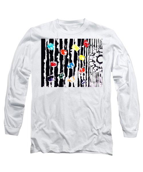 Fractured Light  Long Sleeve T-Shirt