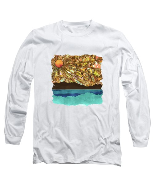 Fractured Sky Long Sleeve T-Shirt