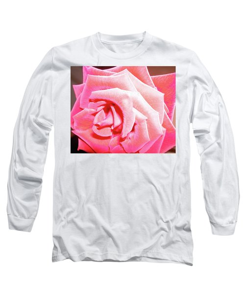 Long Sleeve T-Shirt featuring the photograph Fragrant Rose by Marie Hicks
