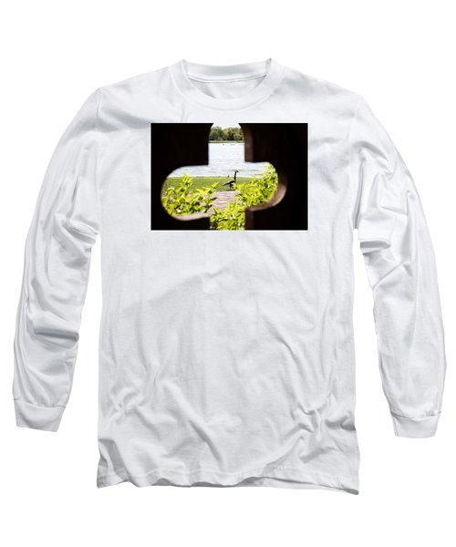 Framed Nature Long Sleeve T-Shirt by Milena Ilieva