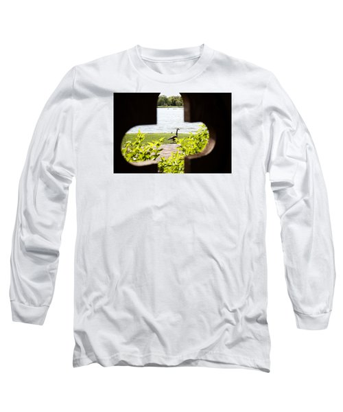 Framed Nature Long Sleeve T-Shirt