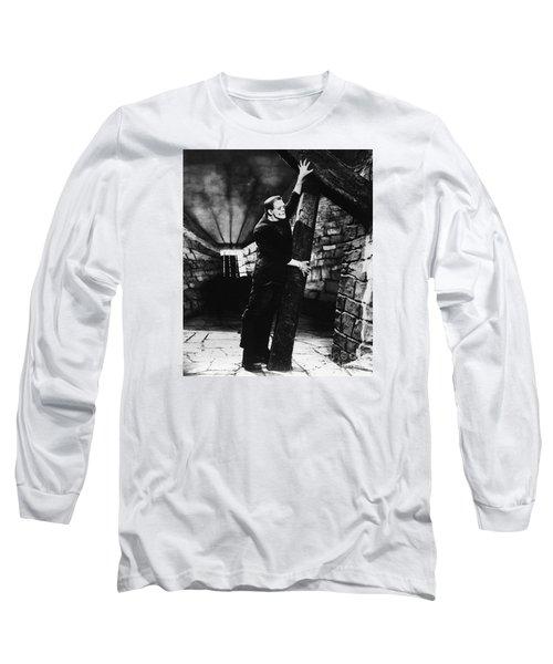 Frankenstein Boris Karloff Classic Film Image  Long Sleeve T-Shirt