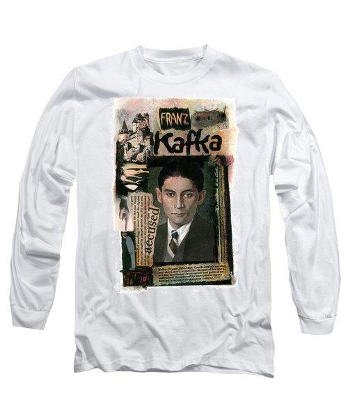 Franz Kafka Long Sleeve T-Shirt
