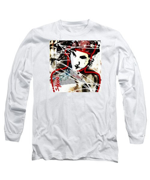 Long Sleeve T-Shirt featuring the painting Free by Helen Syron