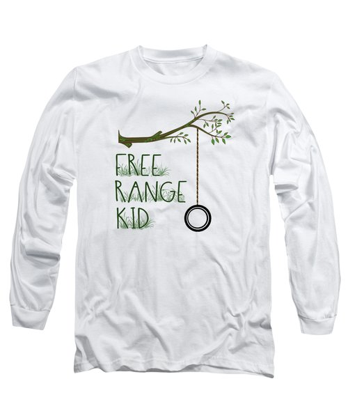 Free Range Kid Long Sleeve T-Shirt