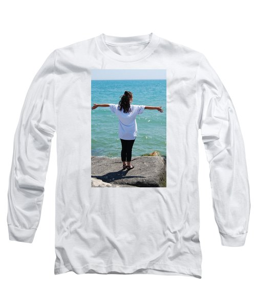 Long Sleeve T-Shirt featuring the photograph Freedom by Ramona Whiteaker