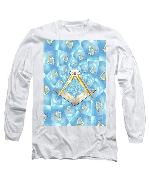 Freemason Symbolism Long Sleeve T-Shirt